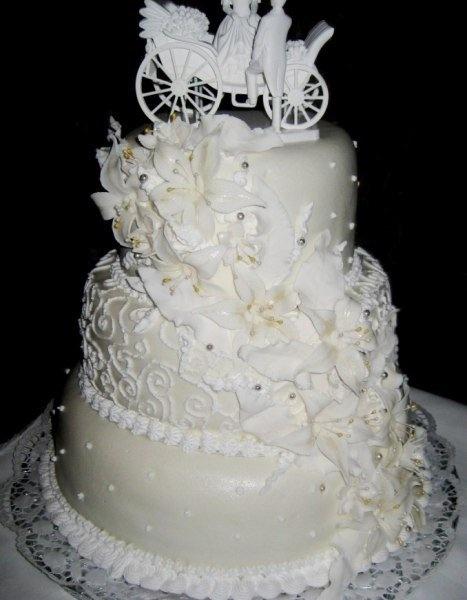 Какие бывают свадебные торты фото 2011